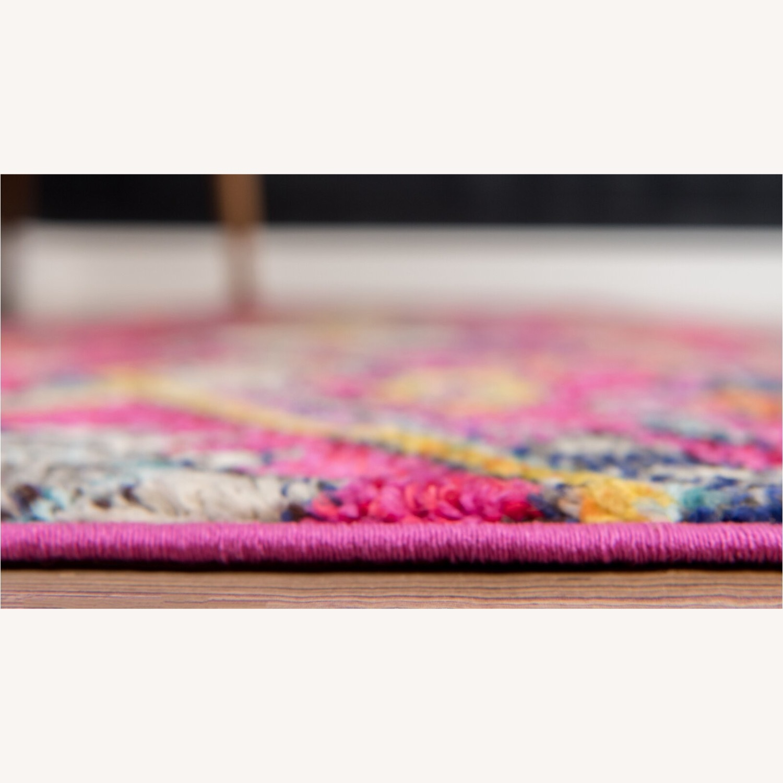 Wayfair Southwestern Pink Area Rug 4'x6' - image-2