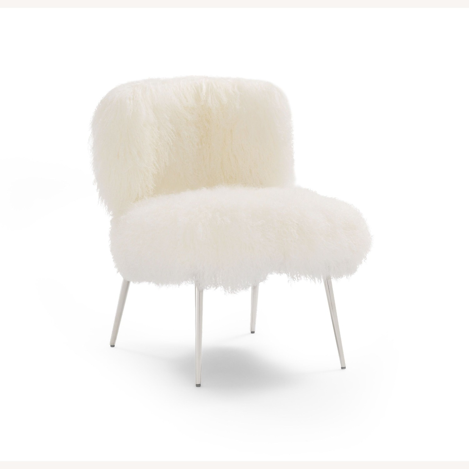 Mitchell Gold + Bob Williams Tibetan Wool Fur Chair - image-0