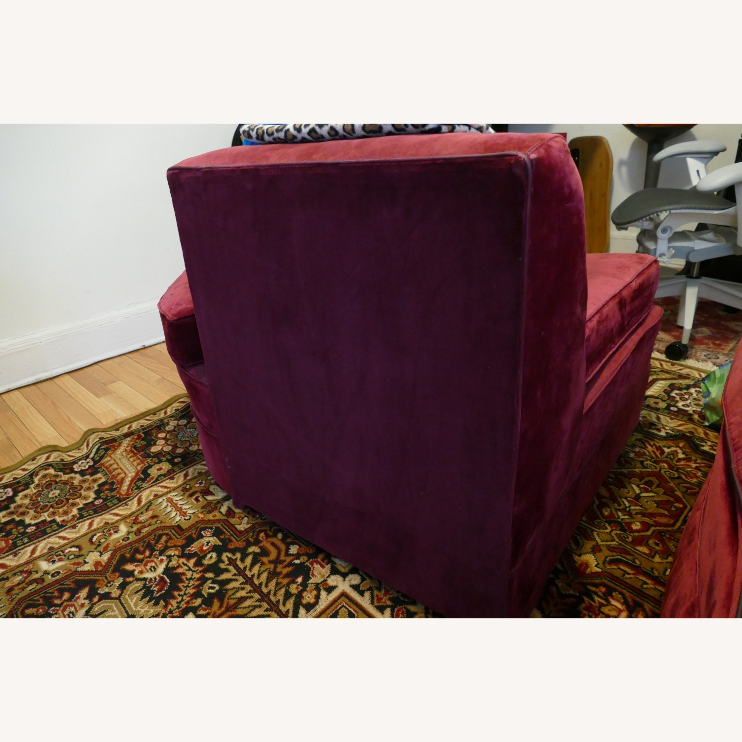 """Vintage 50's """"S""""-shaped 2-pc Sectional Sofa - image-35"""