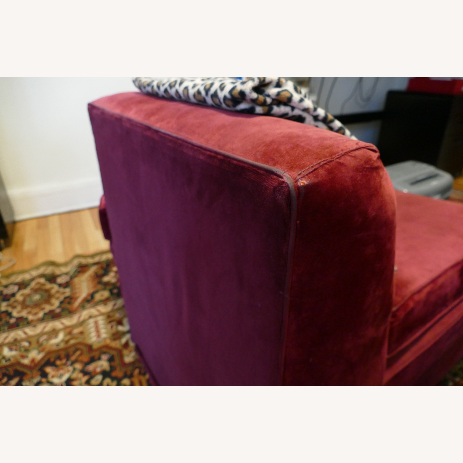 """Vintage 50's """"S""""-shaped 2-pc Sectional Sofa - image-36"""