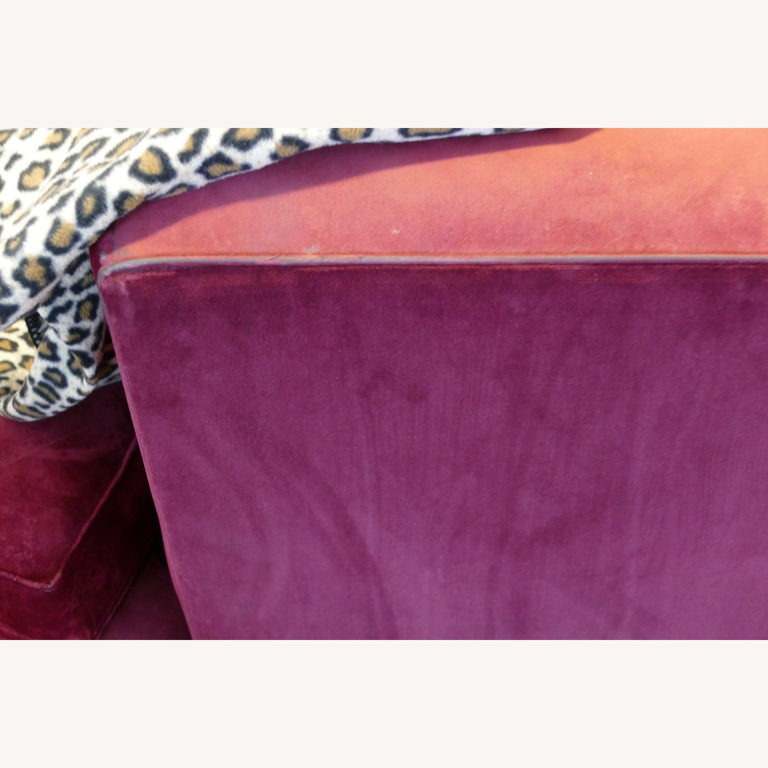 """Vintage 50's """"S""""-shaped 2-pc Sectional Sofa - image-31"""