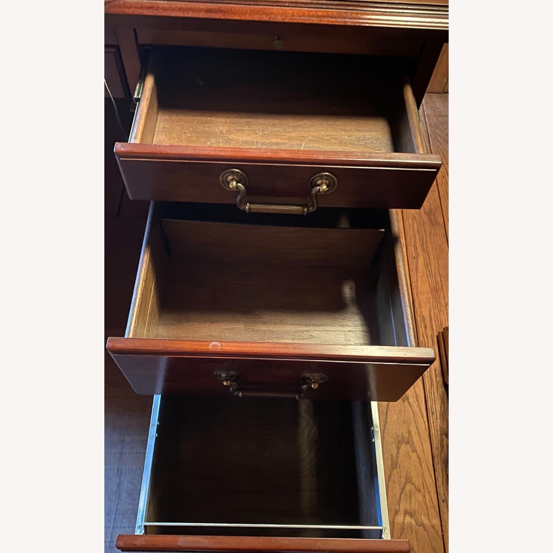 Kimball President Double Pedestal Desk - image-11