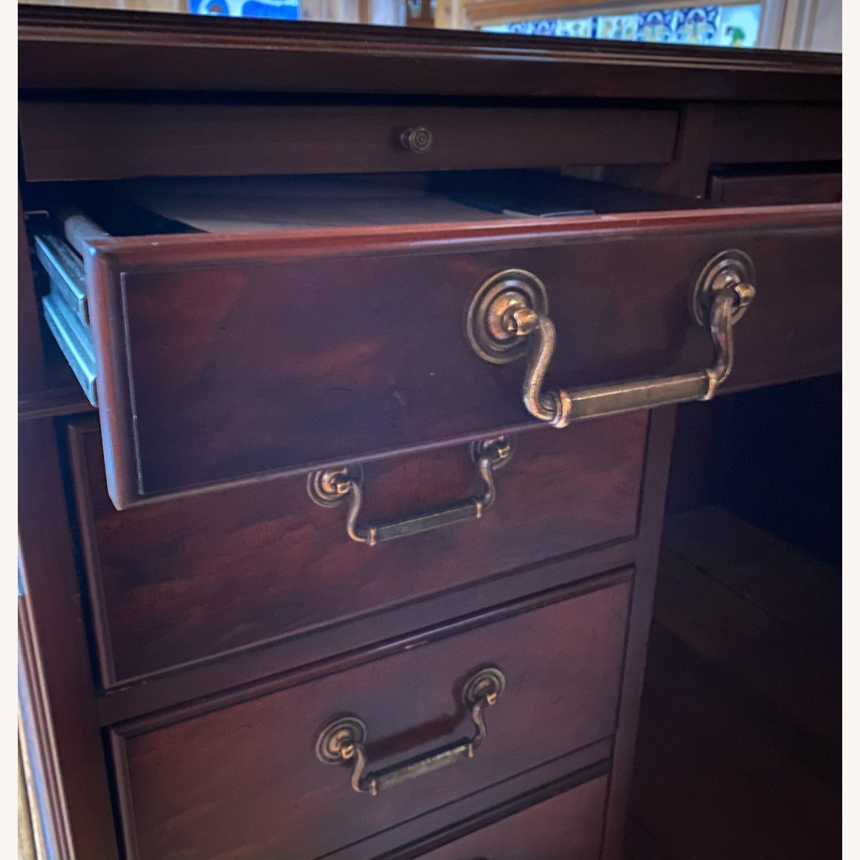 Kimball President Double Pedestal Desk - image-9