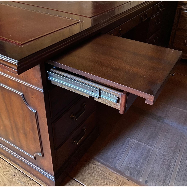 Kimball President Double Pedestal Desk - image-3