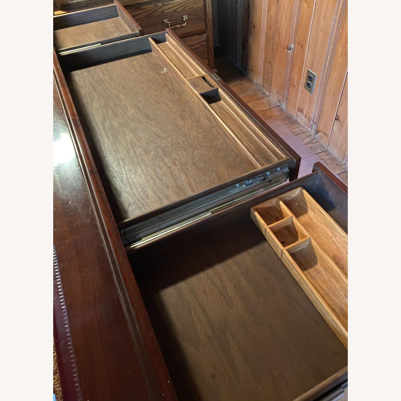 Kimball President Double Pedestal Desk - image-10
