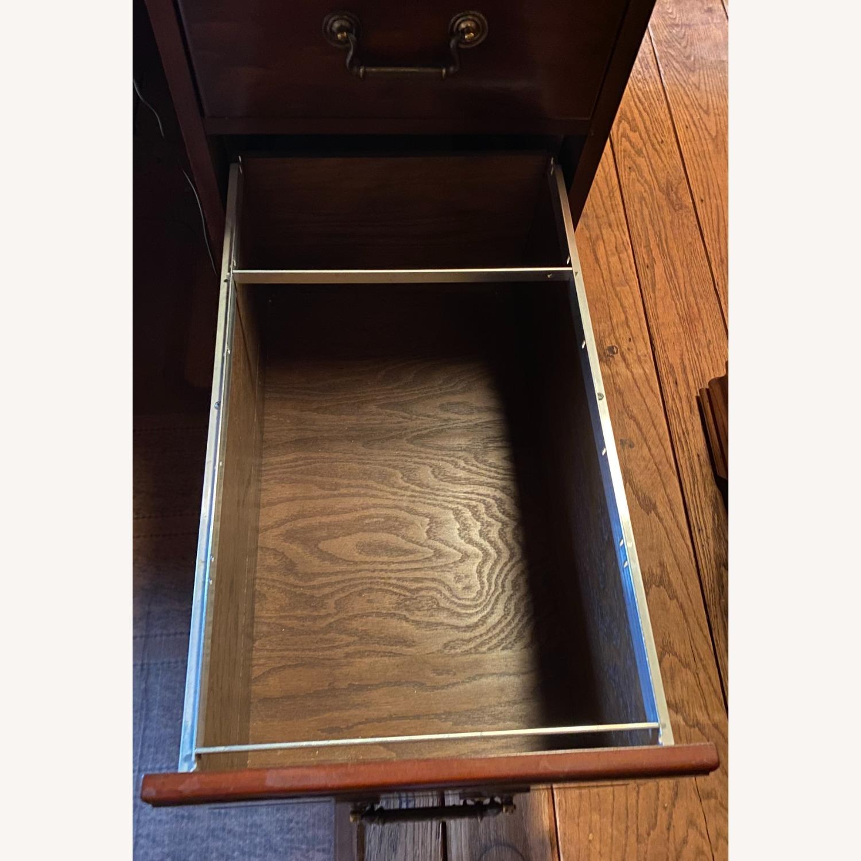 Kimball President Double Pedestal Desk - image-12
