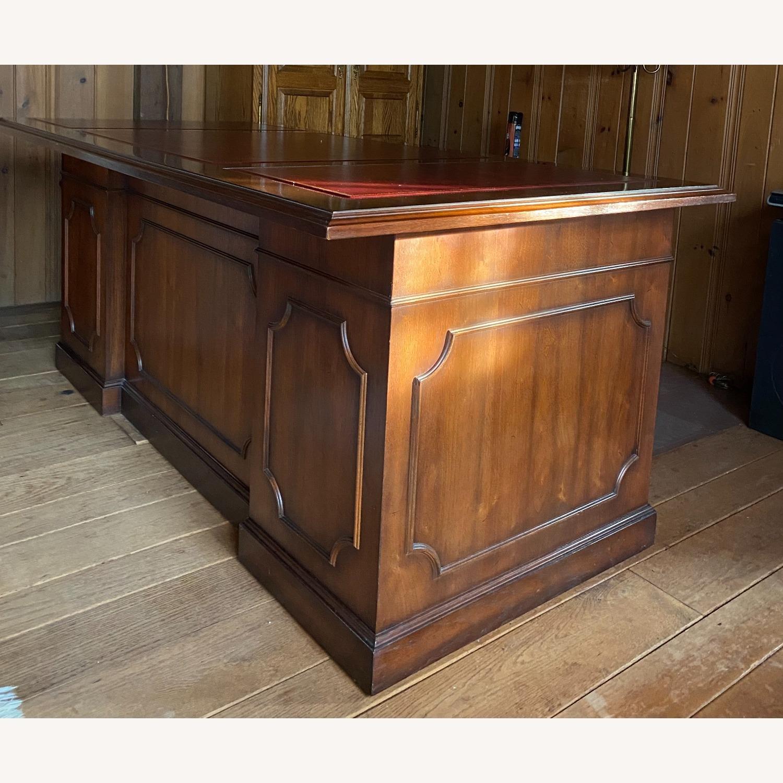Kimball President Double Pedestal Desk - image-4