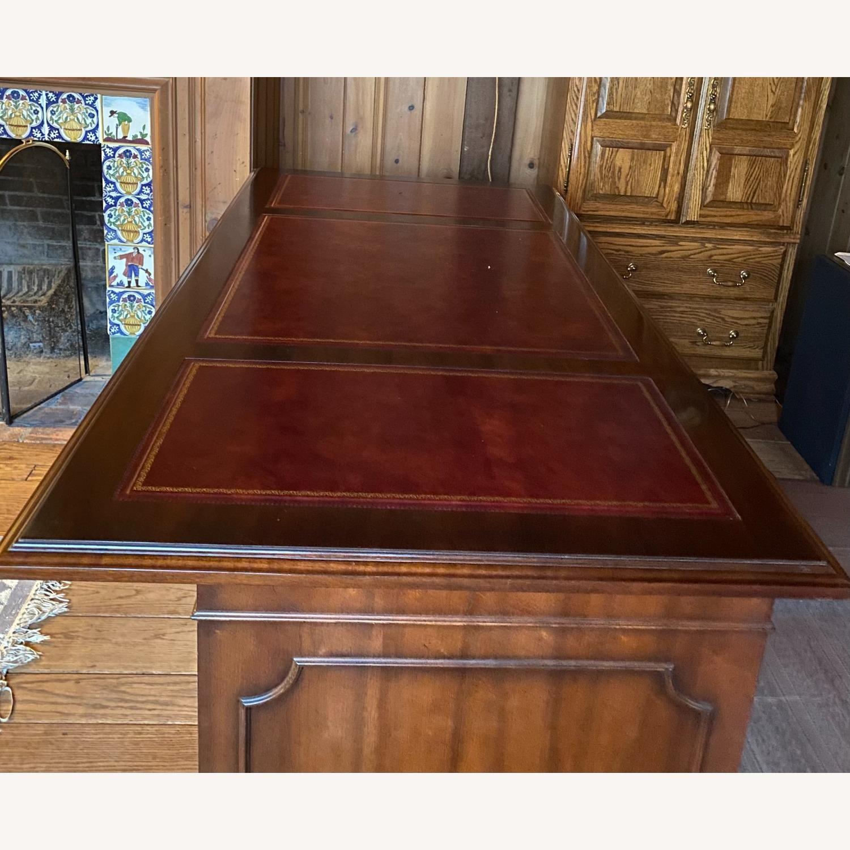 Kimball President Double Pedestal Desk - image-8