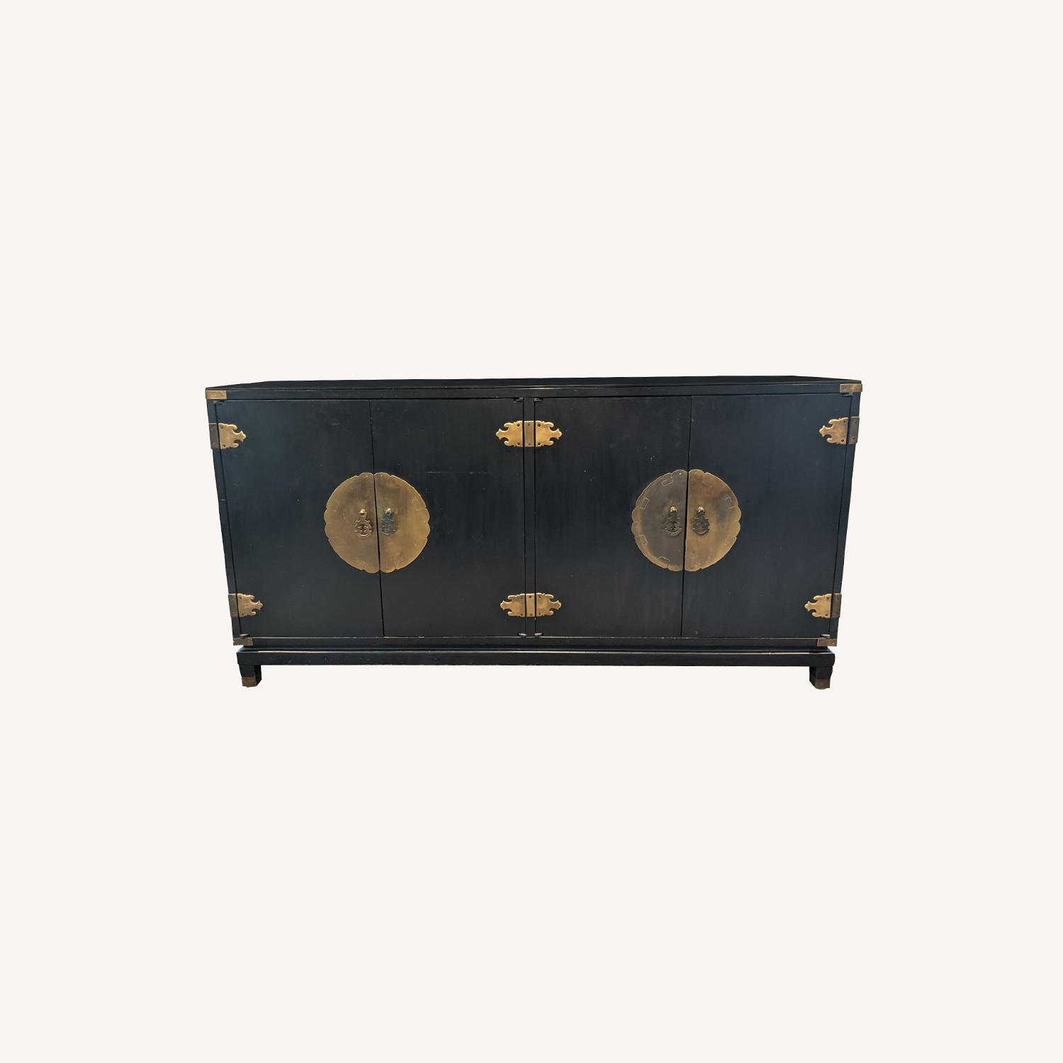 Vintage Chinoiserie Credenza - image-0