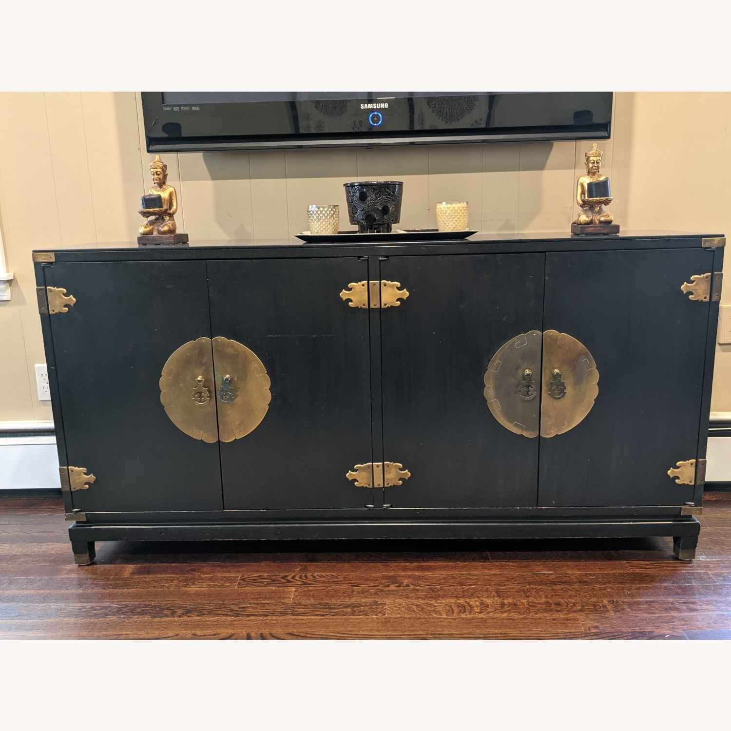Vintage Chinoiserie Credenza - image-1