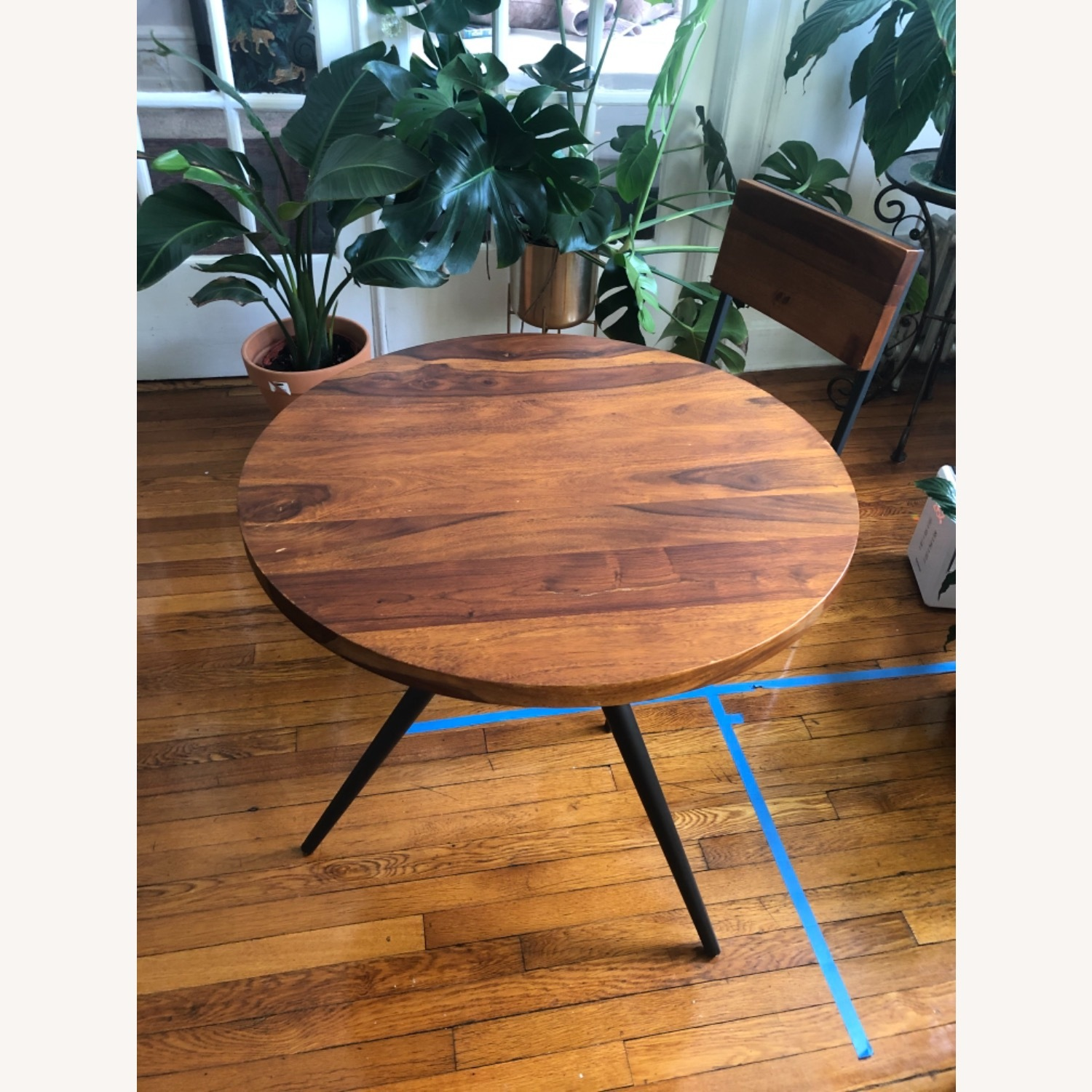 West Elm Bistro Table and Chairs - image-1