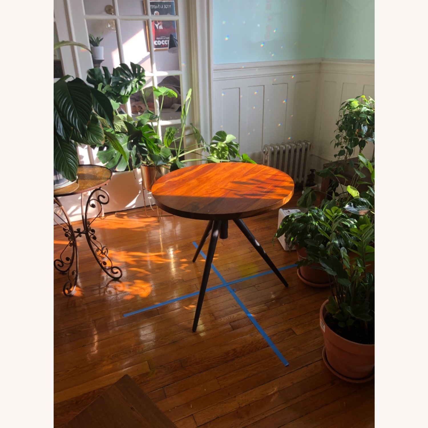 West Elm Bistro Table and Chairs - image-7