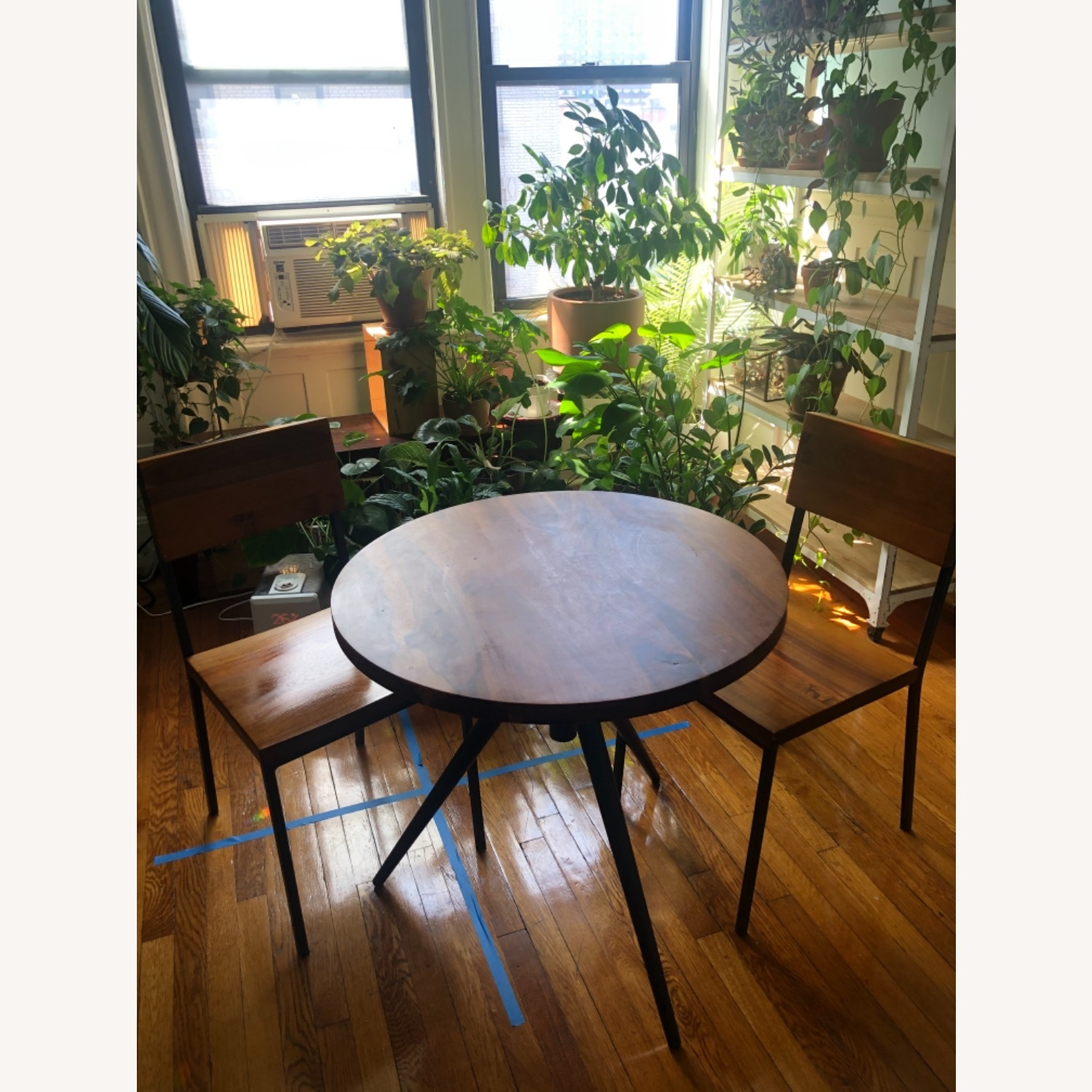 West Elm Bistro Table and Chairs - image-2