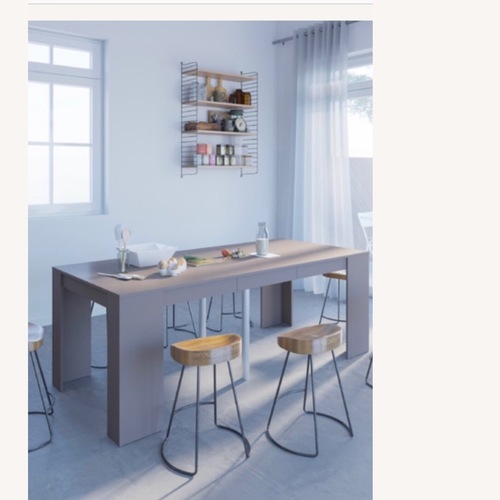 Used Houzz Expandable Dining Table for sale on AptDeco