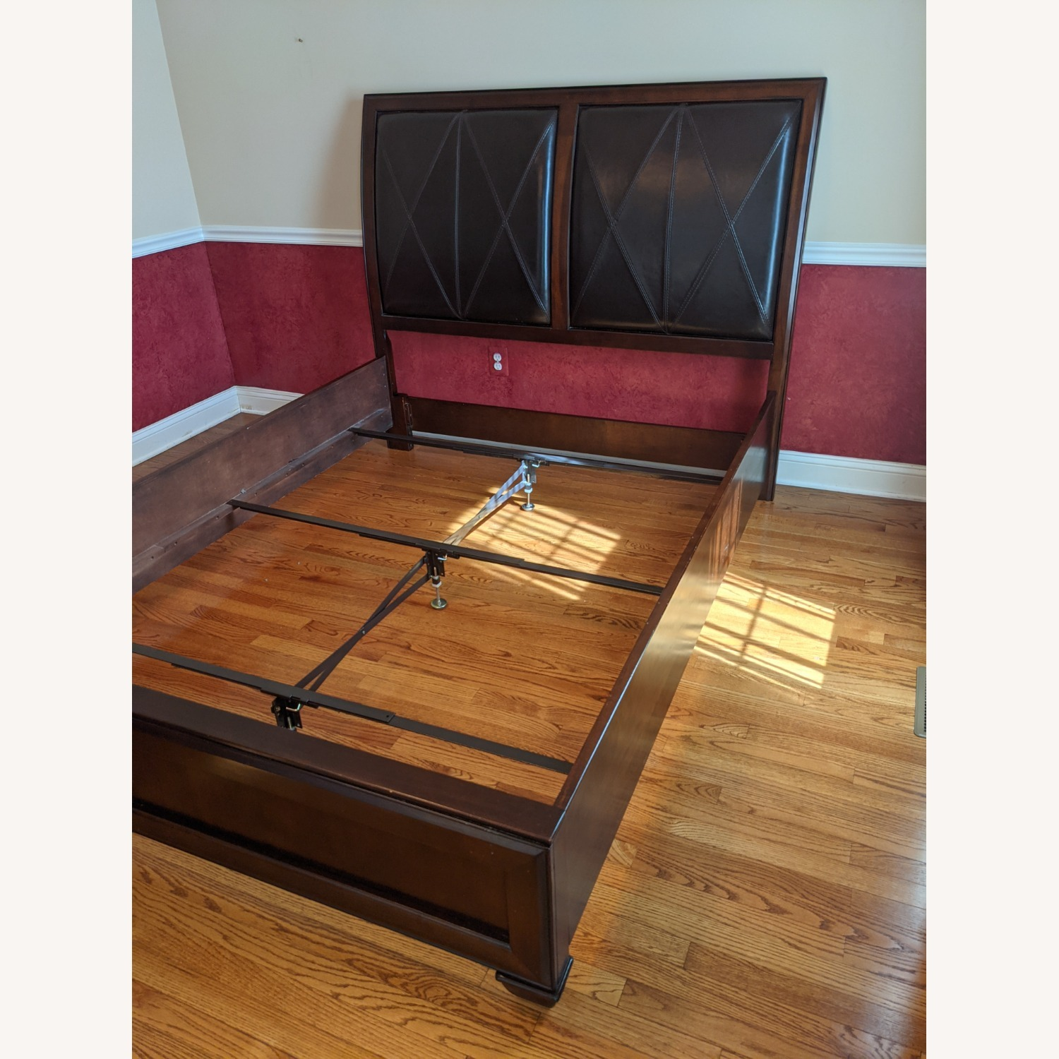 Raymour & Flanigan Queen Bed - image-3