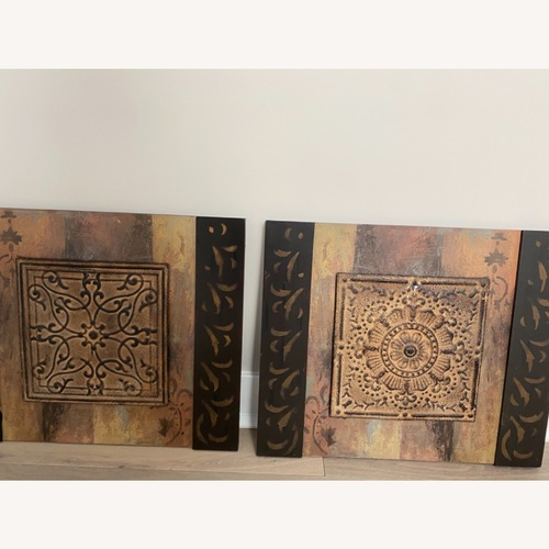 Used Uttermost Tribal Wall Decor for sale on AptDeco