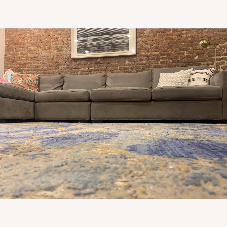 Bloomingdale's Silk / Fiber Blend Area Rug - image-1