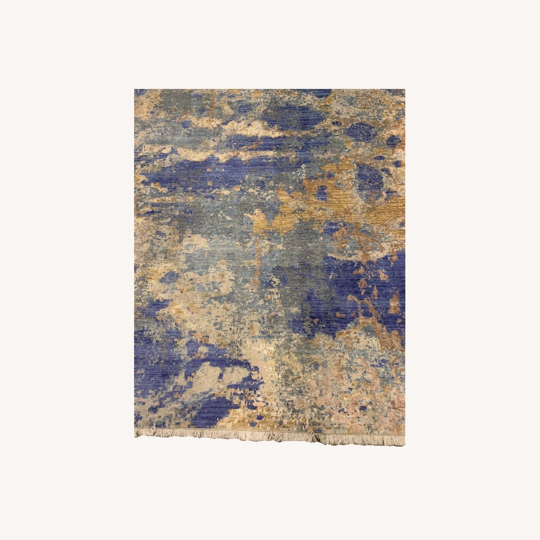 Bloomingdale's Silk / Fiber Blend Area Rug - image-0