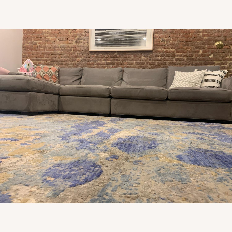 Bloomingdale's Silk / Fiber Blend Area Rug - image-4