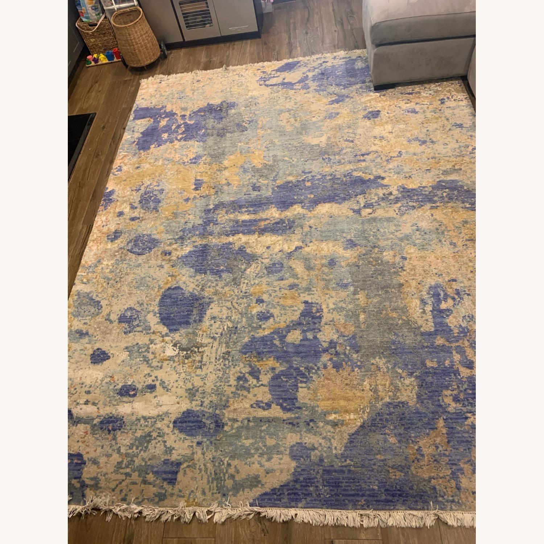 Bloomingdale's Silk / Fiber Blend Area Rug - image-5