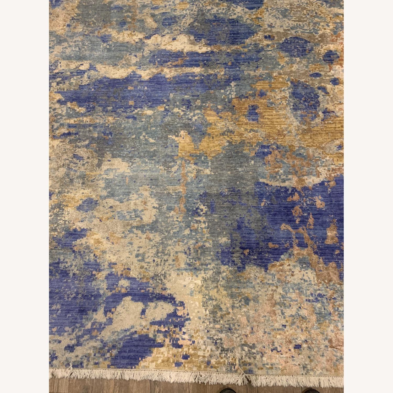Bloomingdale's Silk / Fiber Blend Area Rug - image-3