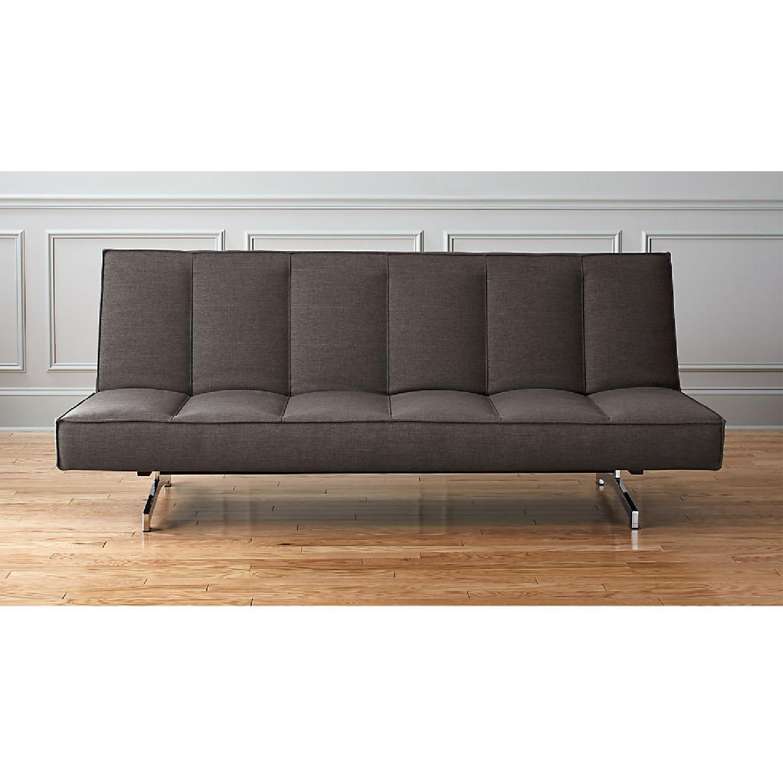 CB2 Modern Flex Sleeper Sofa/Queen Bed, 3 settings - image-4