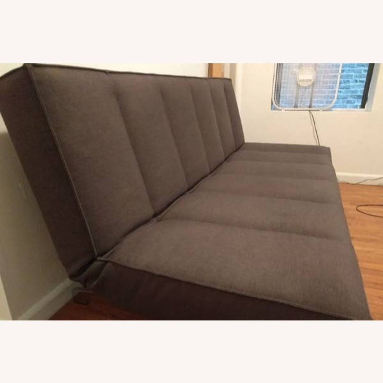 CB2 Modern Flex Sleeper Sofa/Queen Bed, 3 settings - image-3
