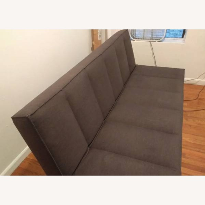 CB2 Modern Flex Sleeper Sofa/Queen Bed, 3 settings - image-1