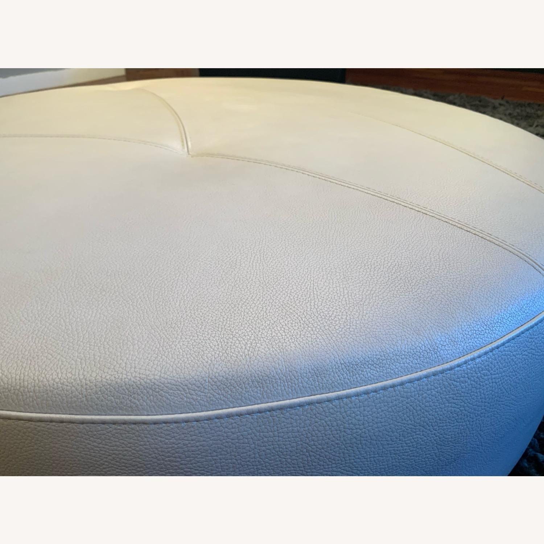 Roche Bobois Grey Round Sofa - image-7