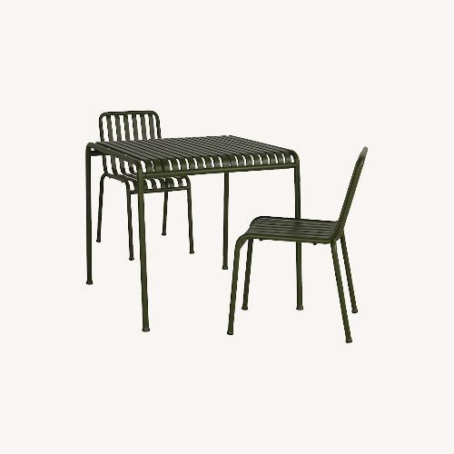 Used Hay Designer Indoor/outdoor Dining Set for sale on AptDeco