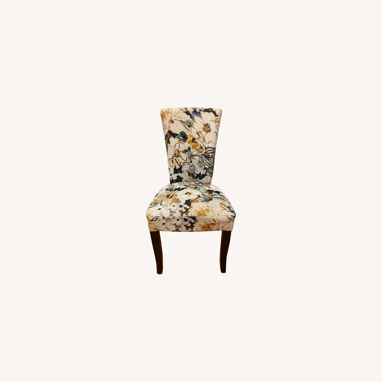 Floral Dining Chair - image-0