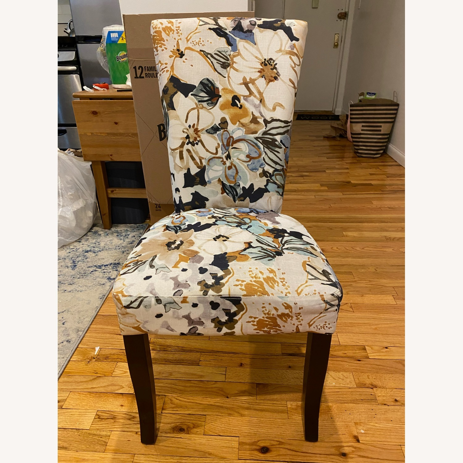 Floral Dining Chair - image-1