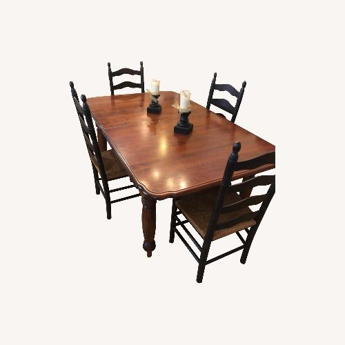 Used Solid Maple Dining Table by Nichols&Stone for sale on AptDeco