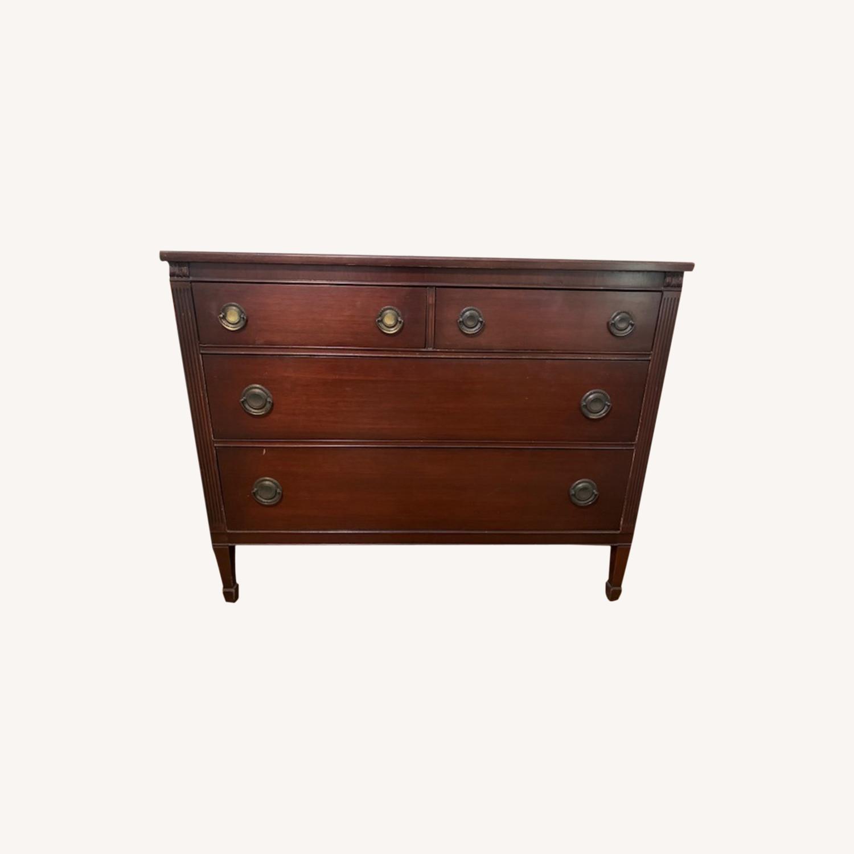 Vintage 4 Drawer Dresser - image-0