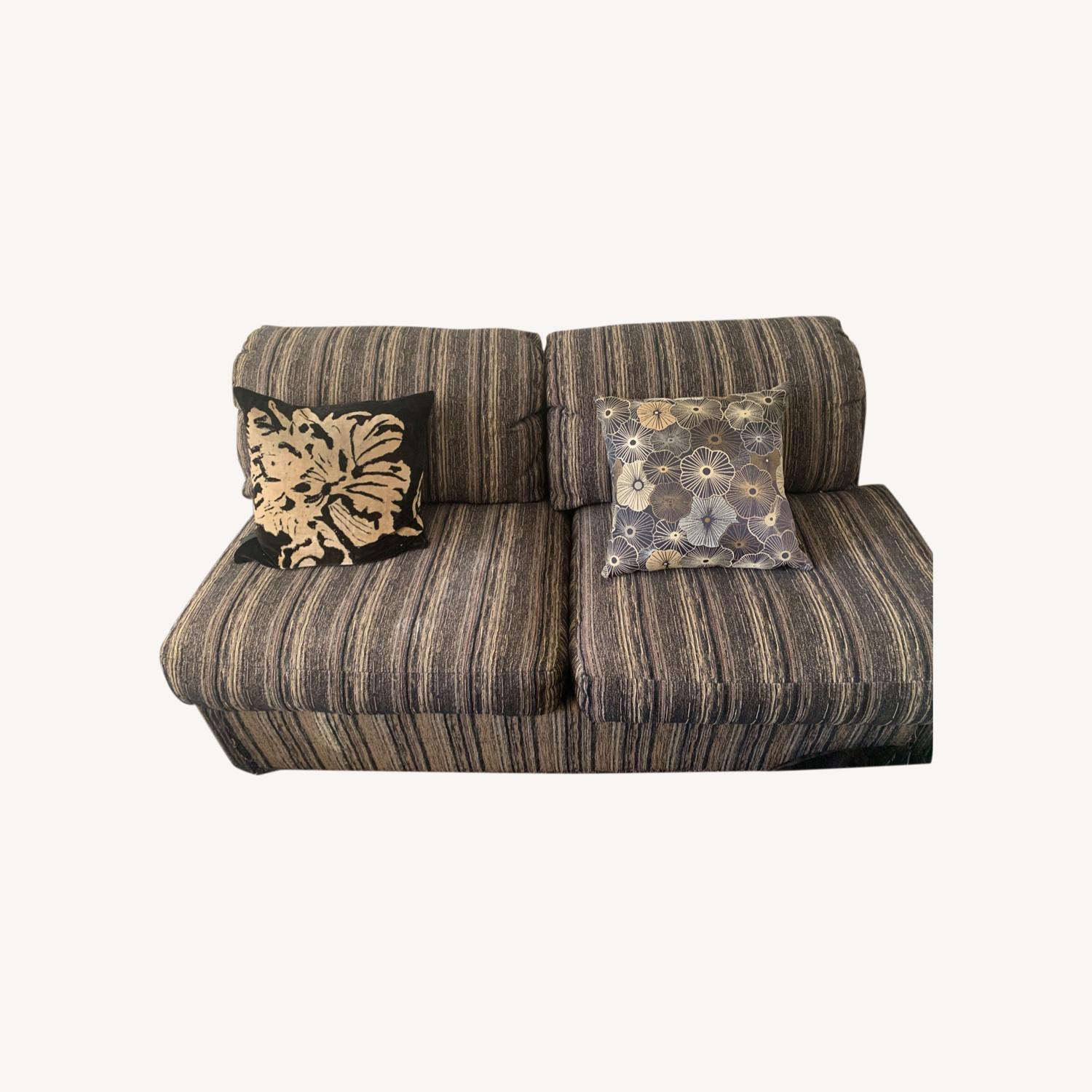 Fabric Loveseat Daybed - image-0