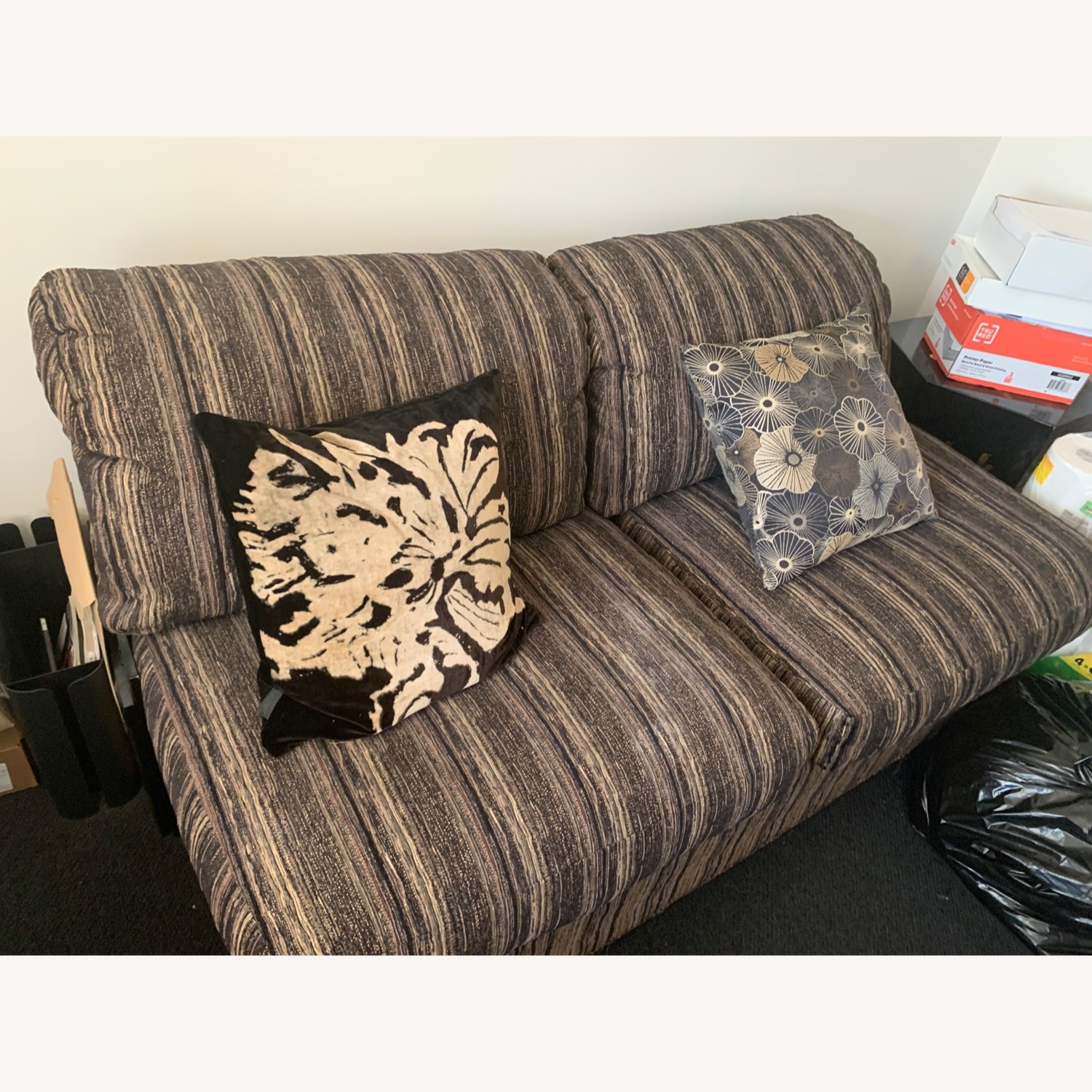 Fabric Loveseat Daybed - image-2