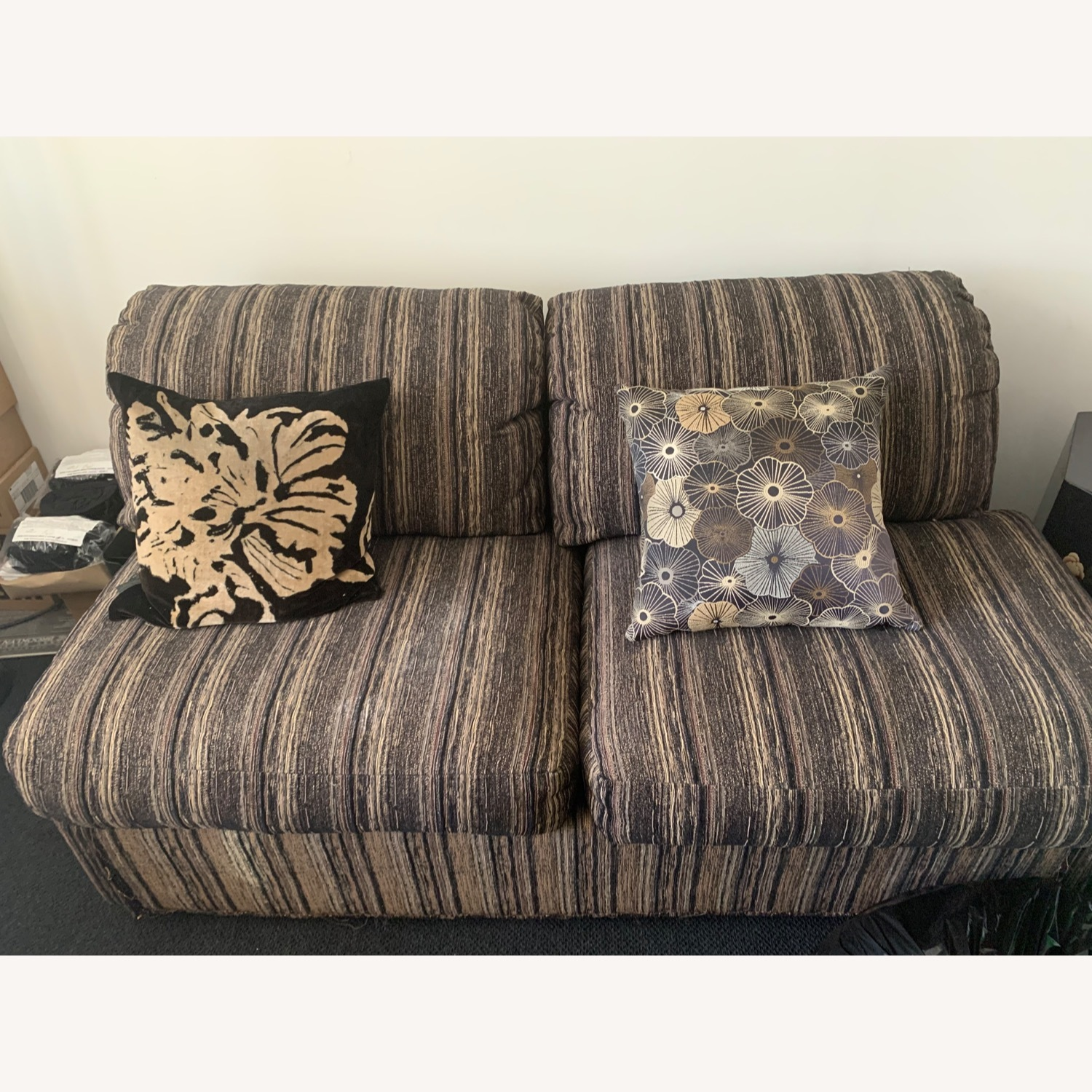 Fabric Loveseat Daybed - image-3