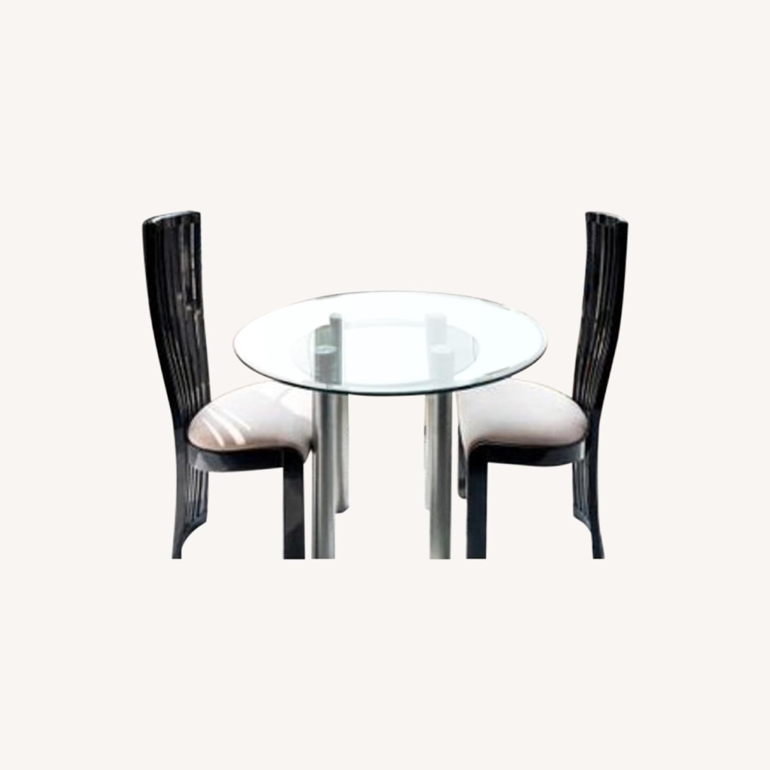 Maurice Villency Furniture Dining Table + 2 Chairs - image-0