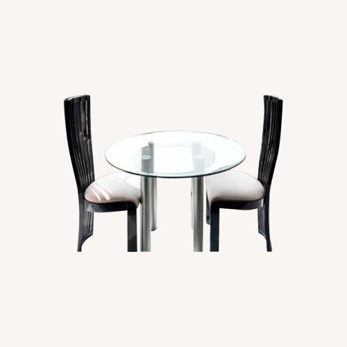Used Maurice Villency Furniture Dining Table + 2 Chairs for sale on AptDeco