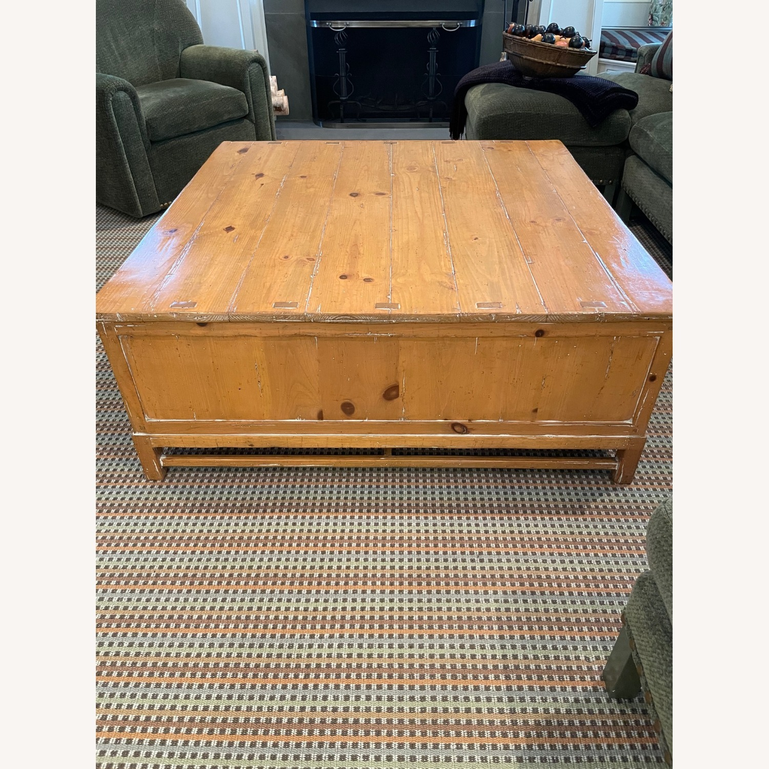 Guy Chaddock Rustic French Country Coffee Table - image-2