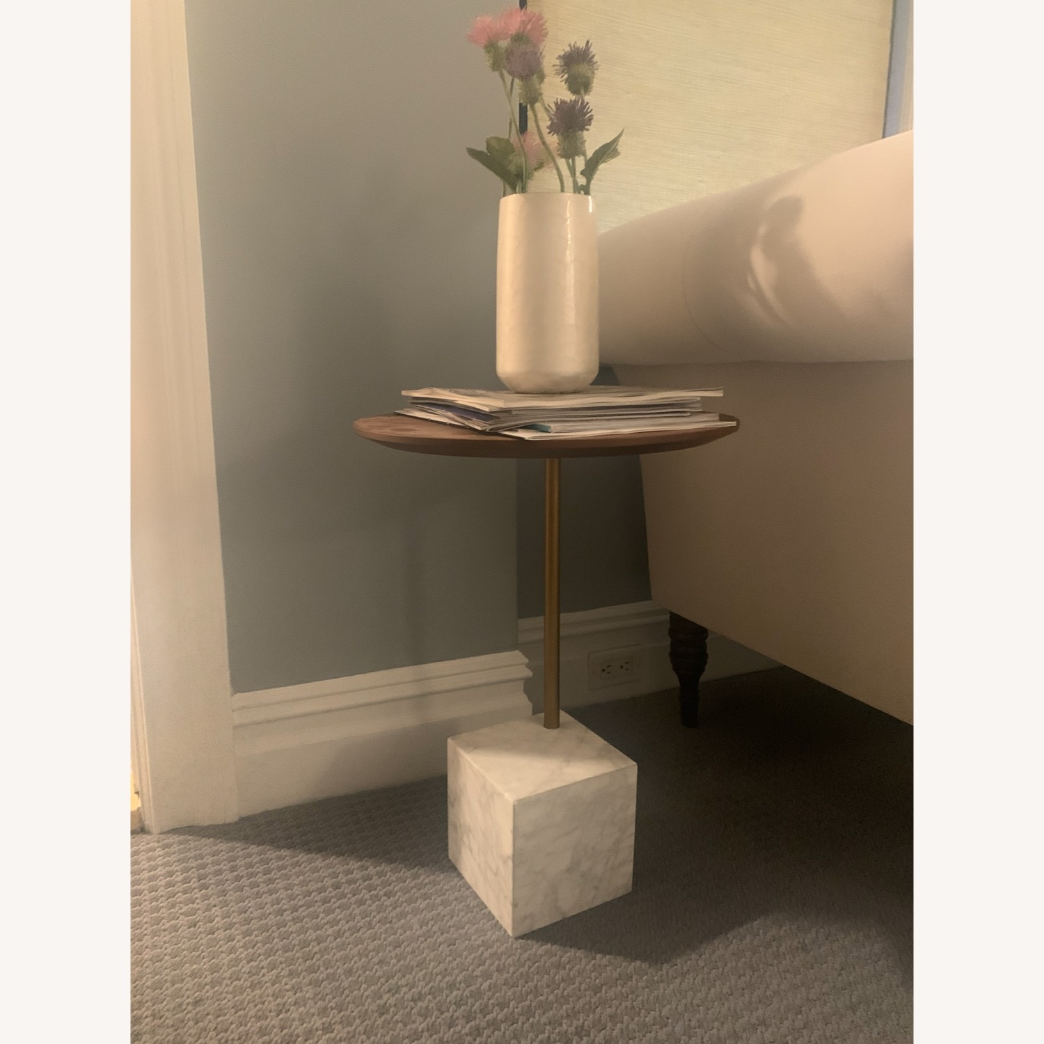 West Elm Cube Side Table - image-1