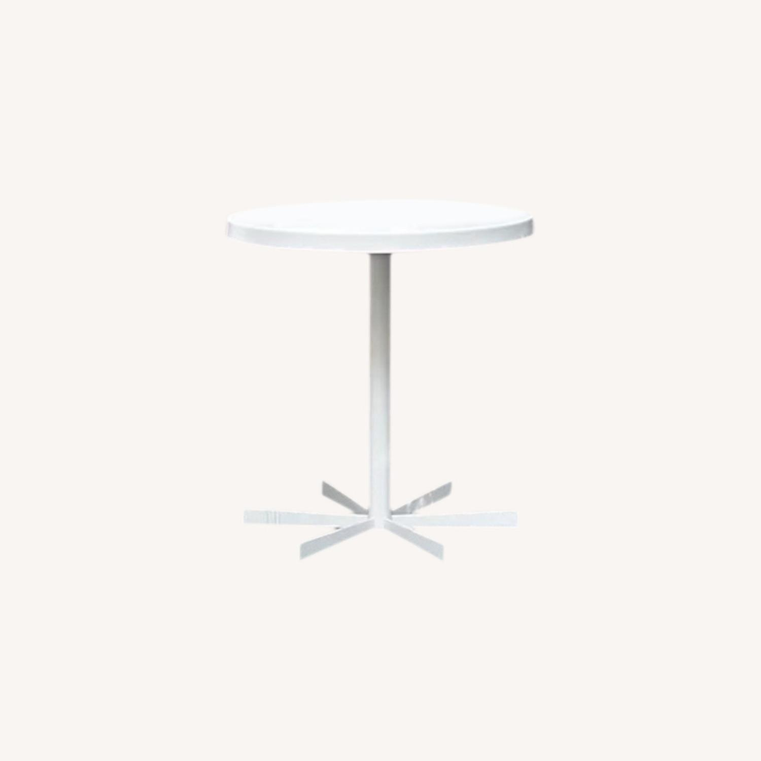 Room & Board Penelope Outdoor Cafe Table White - image-9