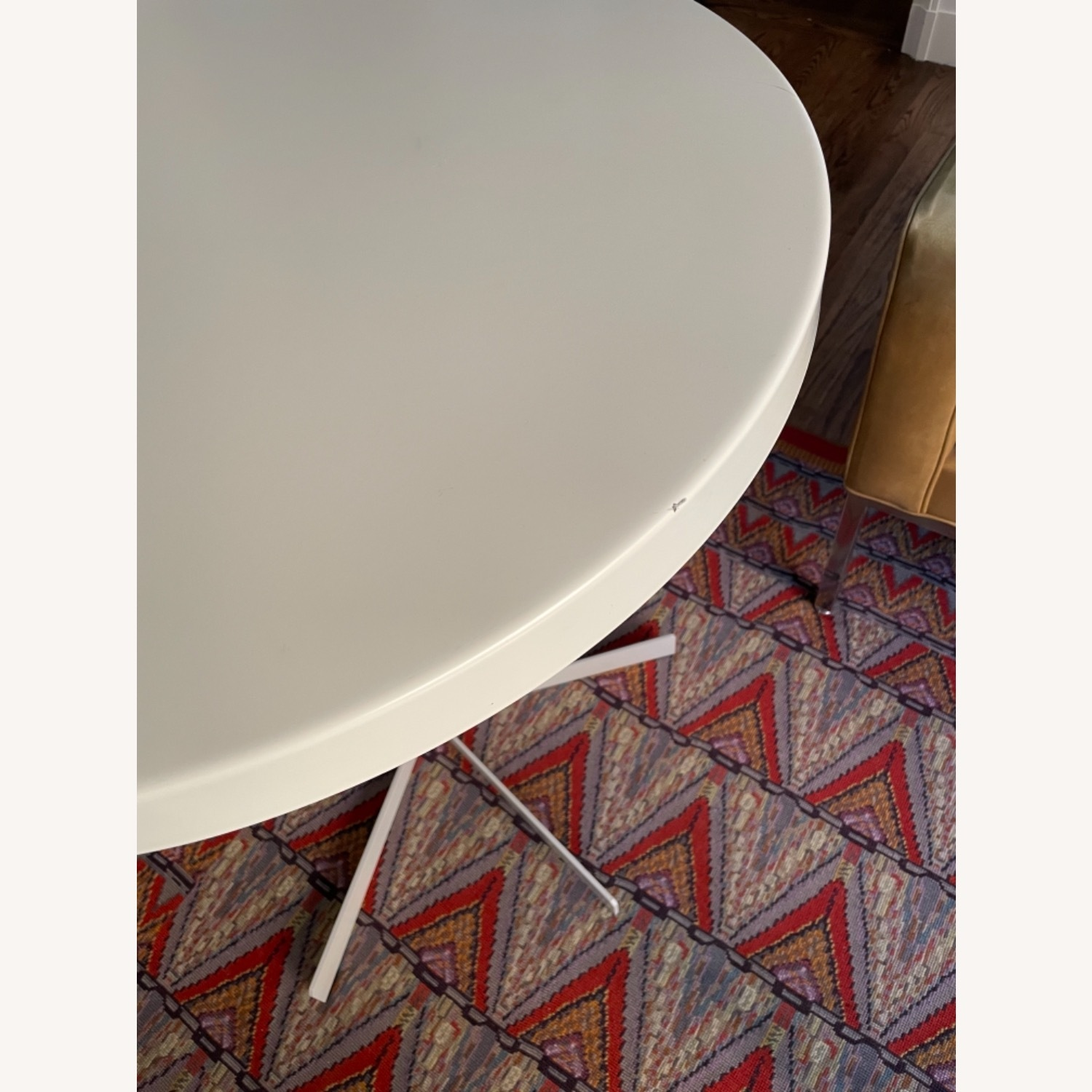 Room & Board Penelope Outdoor Cafe Table White - image-5