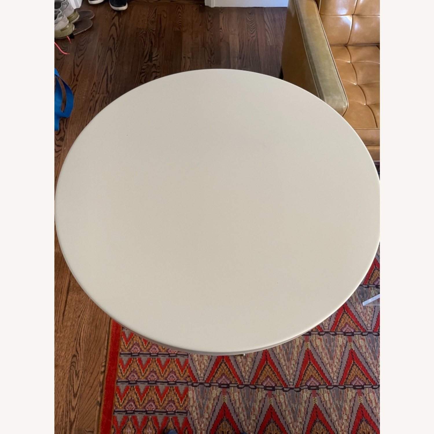 Room & Board Penelope Outdoor Cafe Table White - image-2