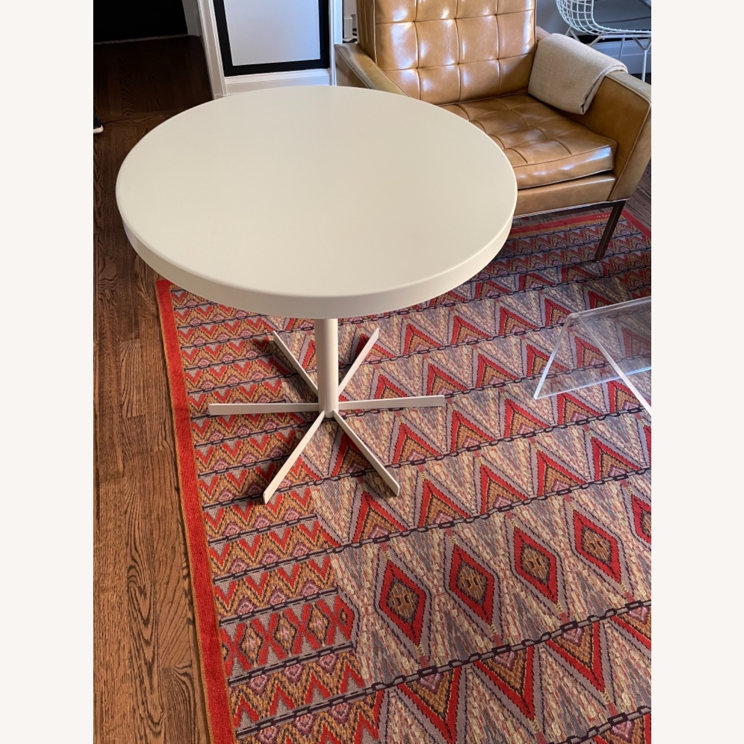 Room & Board Penelope Outdoor Cafe Table White - image-1