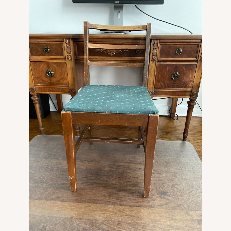 Kling Walnut Vanity Desk - image-6