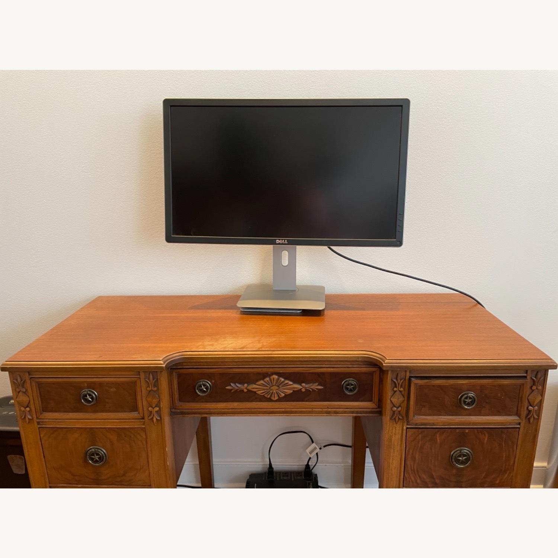 Kling Walnut Vanity Desk - image-1