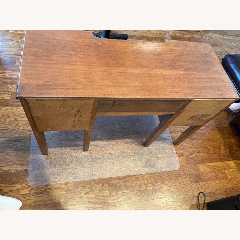 Kling Walnut Vanity Desk - image-3