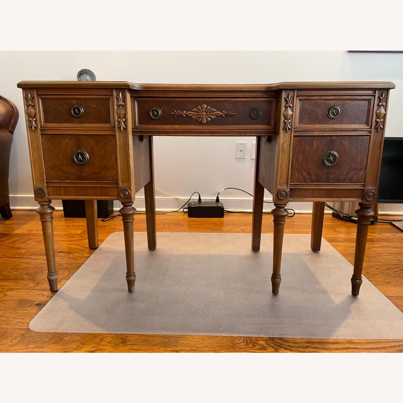 Kling Walnut Vanity Desk - image-0
