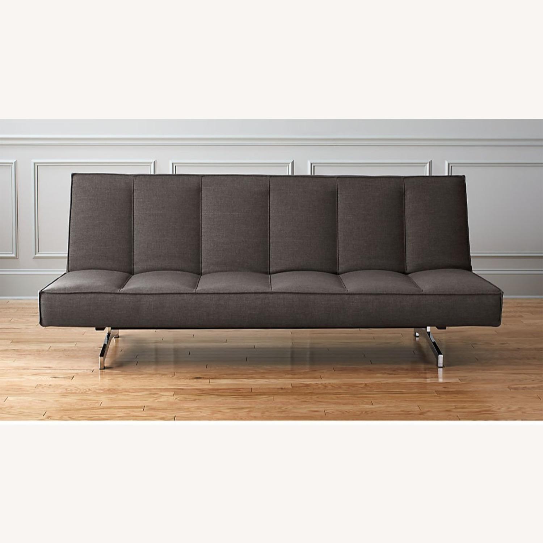 CB2 Flex Gravel Sleeper Sofa - image-4